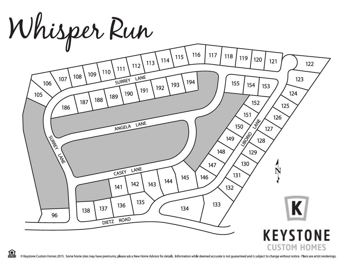 Whisper Run Lot Map Background