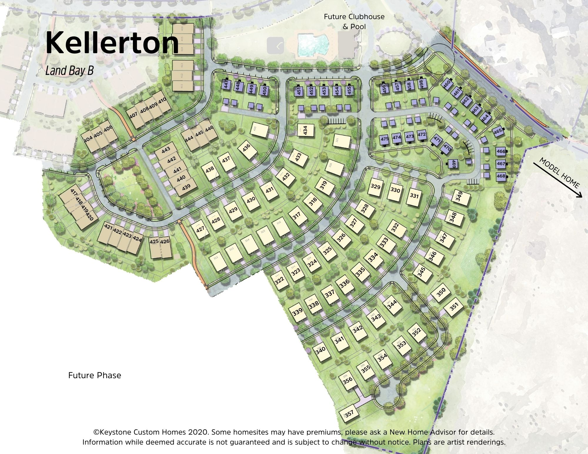 Kellerton Neo-Traditional Lot Map Background